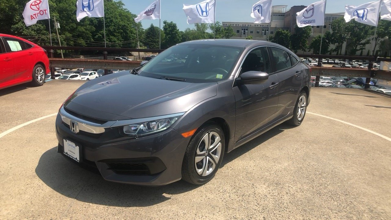 Certified Pre Owned 2017 Honda Civic Lx 4d Sedan In New Rochelle Uc2778 Of