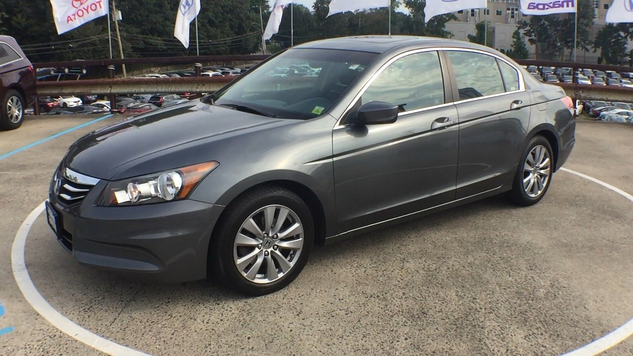 High Quality Pre Owned 2012 Honda Accord EX L