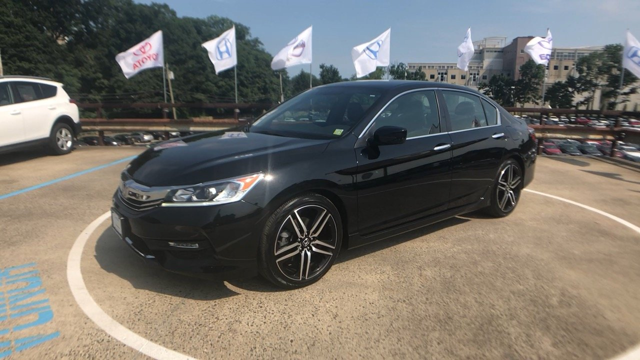 Certified Pre Owned 2017 Honda Accord Sport Special Edition