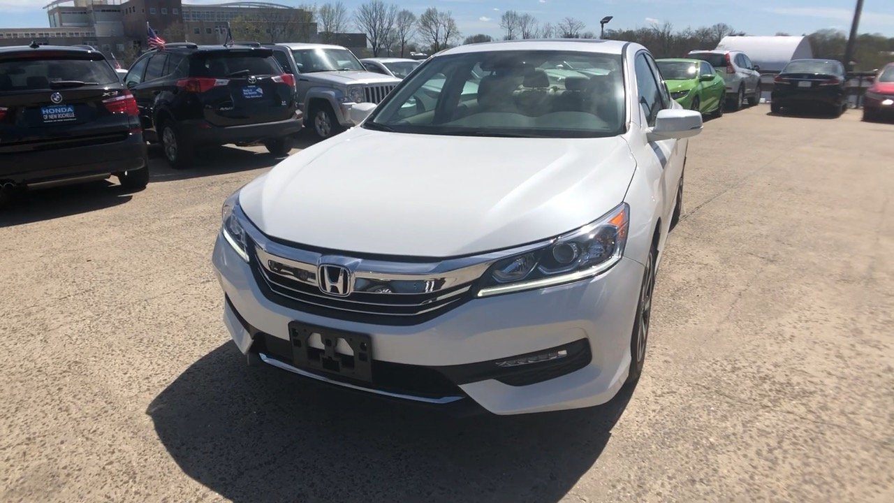 New 2017 Honda Accord Ex L V6