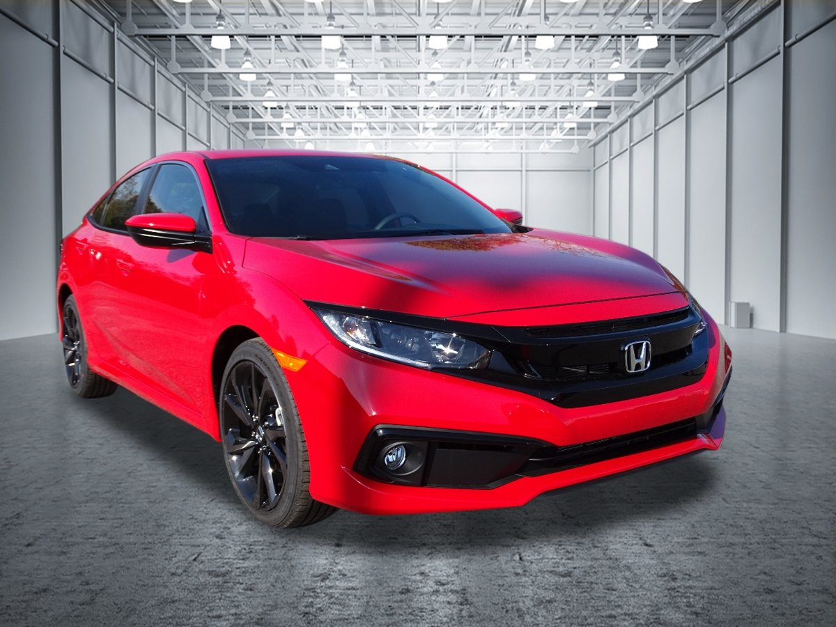 New 2019 Honda Civic Sport 4dr Car In New Rochelle 20191384 Honda