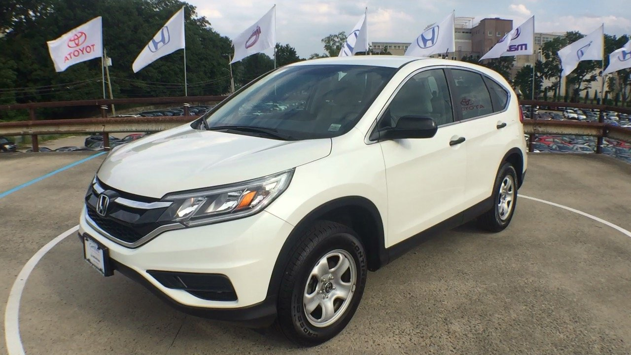 Certified Pre Owned 2015 Honda Cr V Lx 4d Sport Utility In New